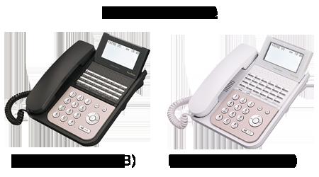 NAKAYO IP電話機 IP-24N-ST101B(B) IP-24N-ST101B(W)