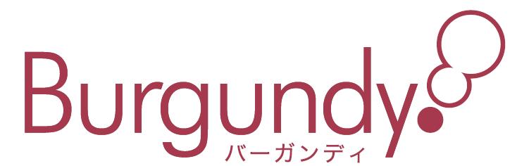 バーガンディ 会社ロゴ