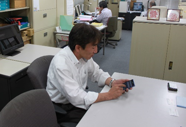 MOT/Phoneを利用中の代表取締役 社長 黒瀬 匠 様