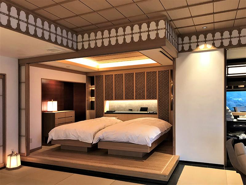 雅の宿 山龢様 寝室