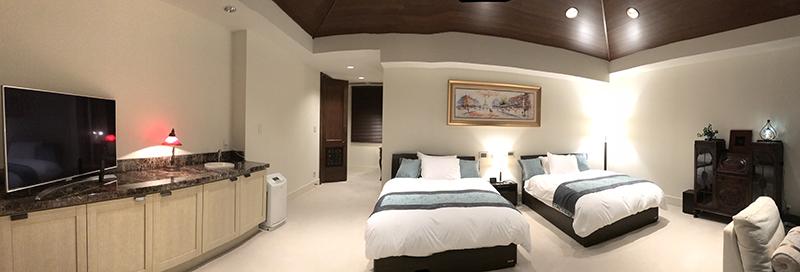 Villa Mon Temps Awaji様の客室